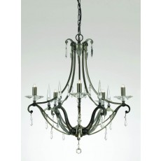 Impex Salerno Versaille/Deco Pendant Light Large