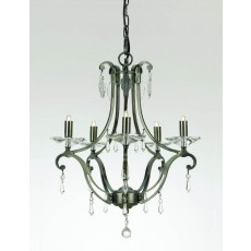 Impex Salerno Versaille/Deco Pendant Light Medium