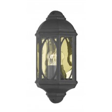 Dar  Tenby Wall Light Black