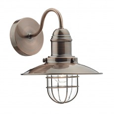 Dar Lighting Terrace Single Wall Bracket Copper
