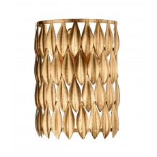 Dar  Volcano 1 Light Gold Wall Bracket Light