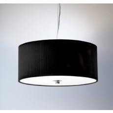 Dar  Zaragoza 3 Light Pendant Black 600MM
