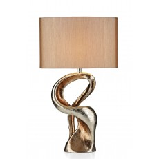 Dar Alchemy Gold Resin Table Lamp