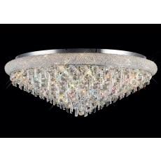 Diyas Alexandra Ceiling 18 Light Polished Chrome/Crystal