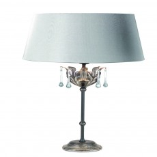 Elstead Amarilli Black/SilverTable Lamp