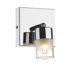 Dar Artemis Single Wall Bracket Polished Chrome IP44 Light