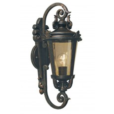 Elstead Baltimore 1 Light Old Bronze Medium Wall Lantern Light