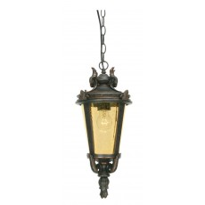 Elstead Baltimore 1 Light Old Bronze Large Chain Lantern Light