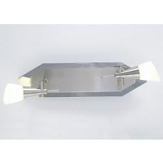 Diyas Diama G9 2 Light Nickel/Polished Chrome/Opal Glass