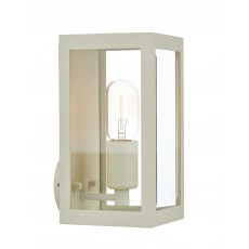 Dar Era IP44 Cream Wall Light