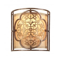 Feiss Marcella 1 Light Bronze Wall Light