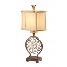 Feiss Marcella 1 Light Bronze Table Lamp