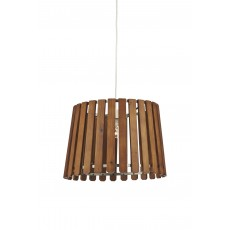 Dar Fence Non Elec Wood Pendant Light