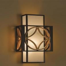 Feiss Remy 1 Light Bronze/Gold Wall Light