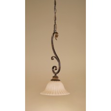 Feiss Sonoma Valley 1 Light Aged Tortoise Shell Pendant Light