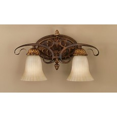 Feiss Sonoma Valley 2 Light Aged Tortoise Shell Wall Light