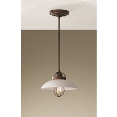 Feiss Urban Renewal 1 Light Bronze Patina Pendant Light