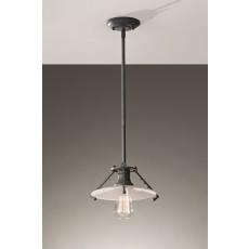 Feiss Urban Renewal 1 Light Weathered Zinc Pendant Light