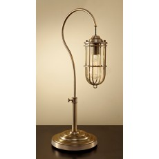 Feiss Urban Renewal 1 Light Dark Antique Brass Table Lamp