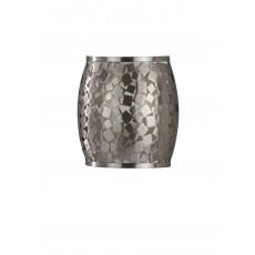 Feiss Zara 1 Light Brushed Steel Wall Light