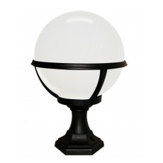 Elstead Glenbeigh Black Pedestal/Porch Lantern Light