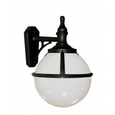 Elstead Glenbeigh 1 Light Black Wall Lantern Light