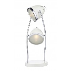 Dar Gomez 2 Light Cream Table Lamp