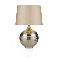 Dar Gustav Large Silver Table Lamp
