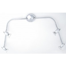 Diyas Habo Flexi 4 Light Polished Chrome