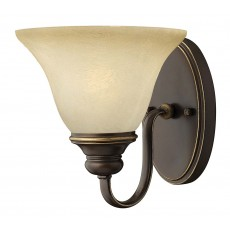 Hinkely Cello 1 Light Antique Bronze Wall Ligh