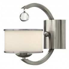 Hinkley Monaco 1 Light Brushed Nickel Wall Light