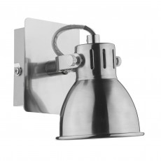 Dar Idaho Natural Chrome Single Wall Bracket