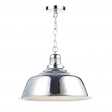 Nantucket 1 Light Pendant Polished Chrome