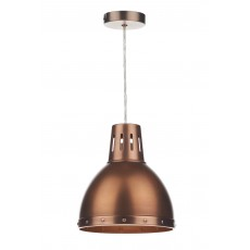 Dar Osaka Non Electrical Antique Copper Pendant Light