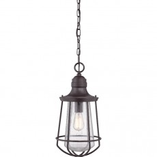 Quoizel Marine 1 Light Large Chain Western Bronze Lantern