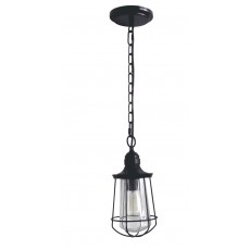 Quoizel Marine 1 Light Small Chain Western Bronze Lantern