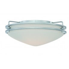 Quoizel Ozark Small Chrome Flush Light