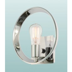 Quoizel Uptowntr 1 Light Imperial Silver Wall Light