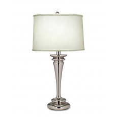 Stiffel Brooklyn Nickel Table Lamp