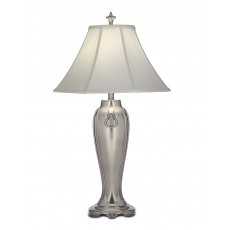 Stiffel Charleston Nickle Table Lamp