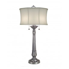Stiffel Presidential Pewter Table Lamp