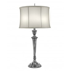Stiffel Syracuse Nickel Table Lamp