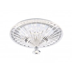 Dar Vincent Flush Clear Led Light